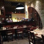 Inside the Bistro Alegria