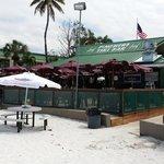 Tiki Bar from the beach
