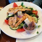 Greek Salad with Grilled Chicken - Lunch Special