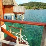Swim down deck
