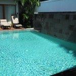 2 bed villa pool