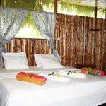 Decoración de una cama marimonial