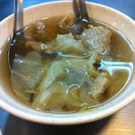 Stall #19 - 肉羹湯 Meat soup...