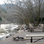 campground by the river, very beautiful!!