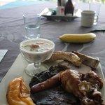 Complimentary umu lunch on Sunday