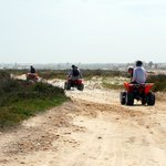 excursion en quad dans les environs