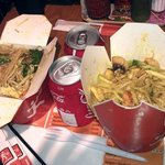 OUR MEAL THE FIRST EXPERIENCE AT WOK TO WALK