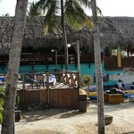 El Batey Buffet with Sea Scape patio in forground