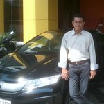 my new honda city...