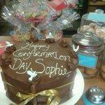 Confirmation Chocolate Fudge Cake