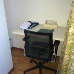 The Desk inside the room