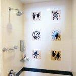 shower art