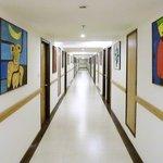 Corridors full of art
