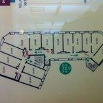 plan etage vue mer 312 a 309