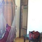 Room with hamock
