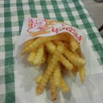 French Fries were hot and tasty
