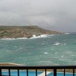 Wintersturm auf Malta