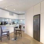 Two-Bedroom Deluxe Duta Suite -Kitchen