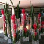 More lobby flowers
