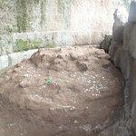 julius caesar ashes resting place