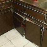broken and old pantry doors