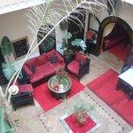 reception/lounging area