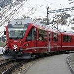 The halt at Alp Grumm
