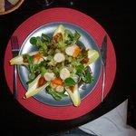 Salade Saint-Jacques (des vraies)