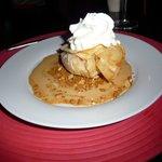 Aumonière de pommes de Normandie, caramel beurre salé