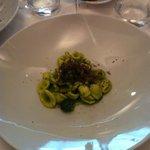 Orecchiette ai broccoli e tartufo nero pregiato