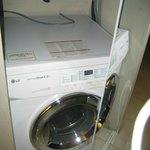 A washer you can't use because the door wont open far enough  (third room lucky?!)