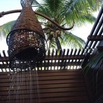 Loved our outdoor shower