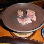 Pan fried beef
