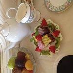 Tea & cake on arrival.