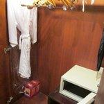 closet, safe and masks