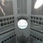 Interior de la torre-faro