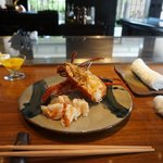 great lobster at KISE
