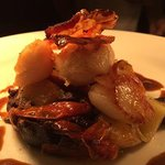 Our popular Scallop Dish