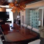 Executive suite board room