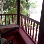 From my balcony..royal cottage room..best room in sea shell resort.