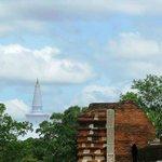 view from Jethawanaramaya Stupa