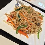 A noodle stir fry - fantastic taste and texture