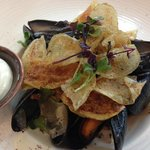 Mussels and Chips