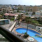 Another view from the balcony Hotel Marina Luz