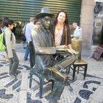 Estátua de Fernando Pessoa
