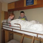 Boys loved the bunk beds!