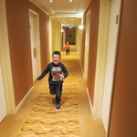 Having fun in the corridors