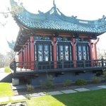 Chinese Tea House on the Grounds of The Marble House