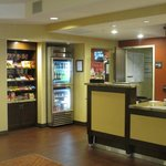 Front Desk and Convenience Store