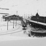 Vista della stazione di Klein Scheidegg dalla camera